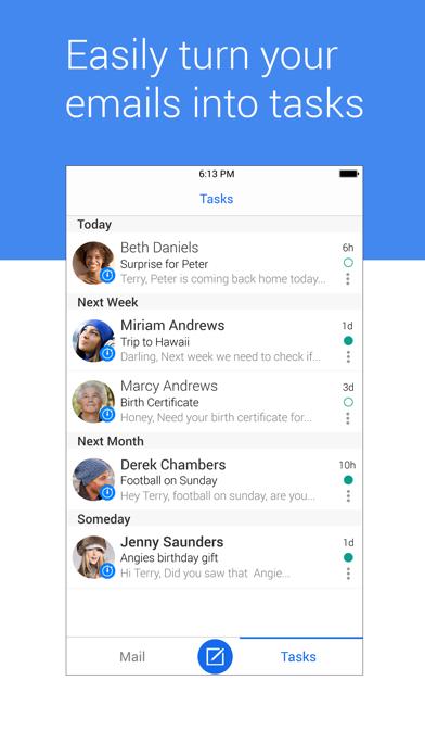 Screenshot #2 pour Blue Mail - Email Mailbox
