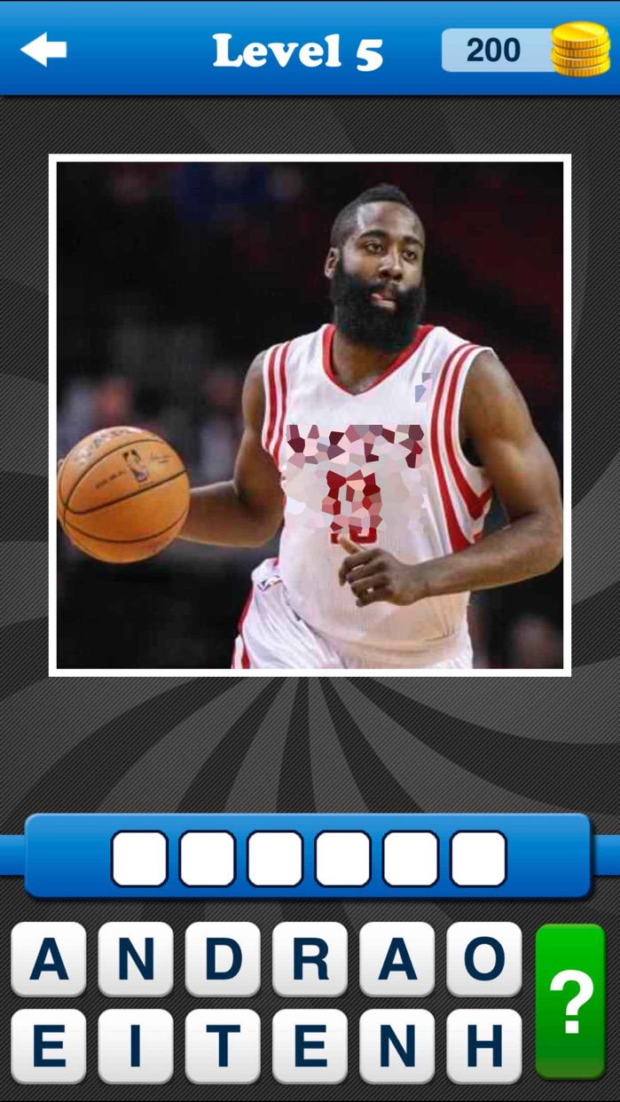 Whos the Player NBA Basketball Screenshot