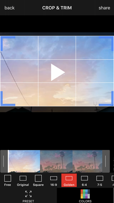 Video Cropper Square screenshot one