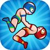 liang zhou - Wrestle Jump Man-Fight Club artwork