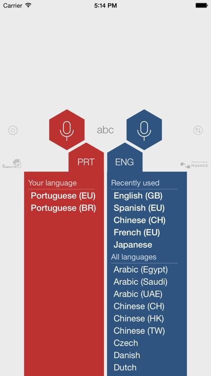 Portuguese Voice Translator