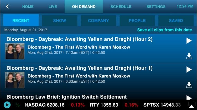 Bloomberg Radio+ screenshot-3