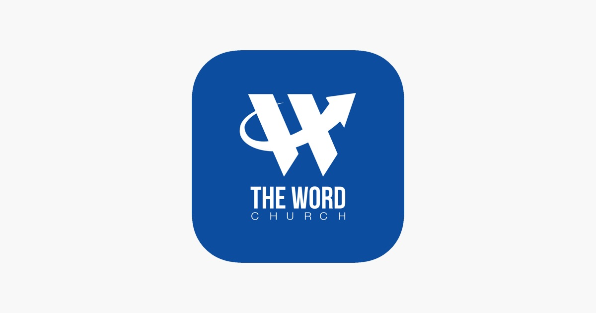 the word church on the app store