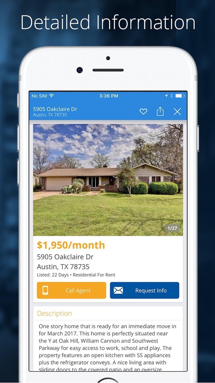Rentals - Homes & Apartments for Rent Screenshot