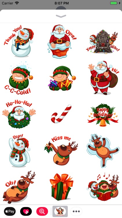 Christmas Spirit Sticker Pack screenshot-2