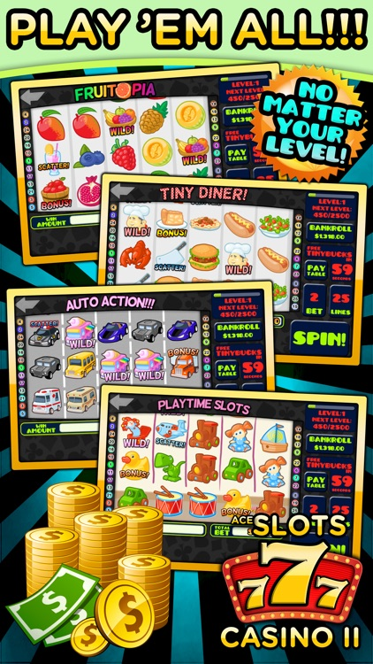 Ace Slots Machine Casino II screenshot-3