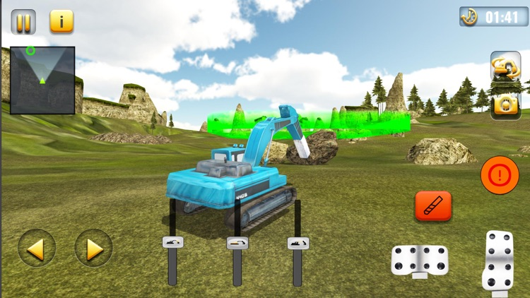 Sand Excavator Crane Simulator screenshot-4