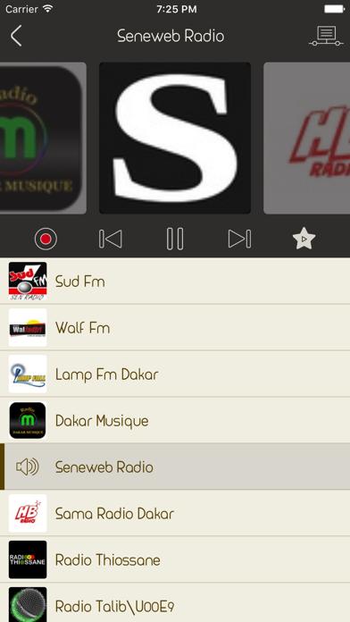 Live Senegal Radio Stations screenshot two