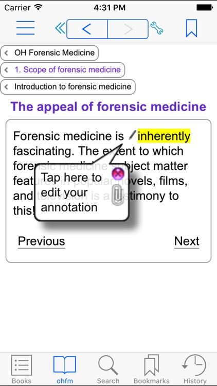 Oxford Handbook of Forensic Medicine screenshot-1