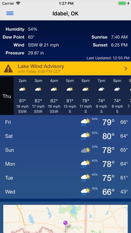 KTEN Weather