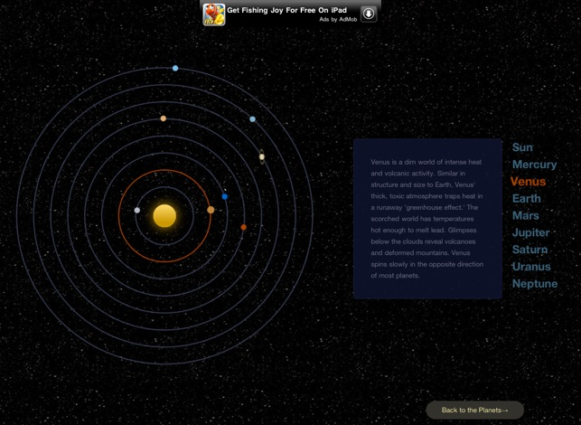 ‎A Solar System Journey Screenshot