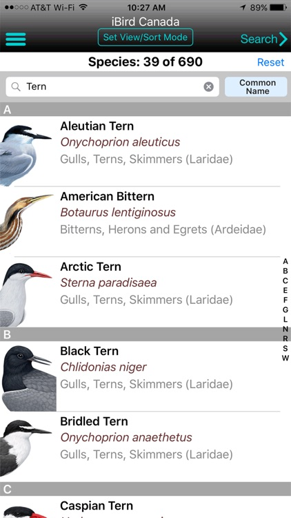 iBird Canada Guide to Birds