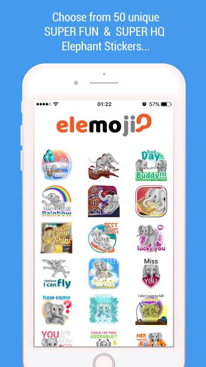EleMoji - Elephant Emojis & Stickers