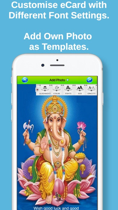 Hindu Festivals Greeting Cards screenshot 4