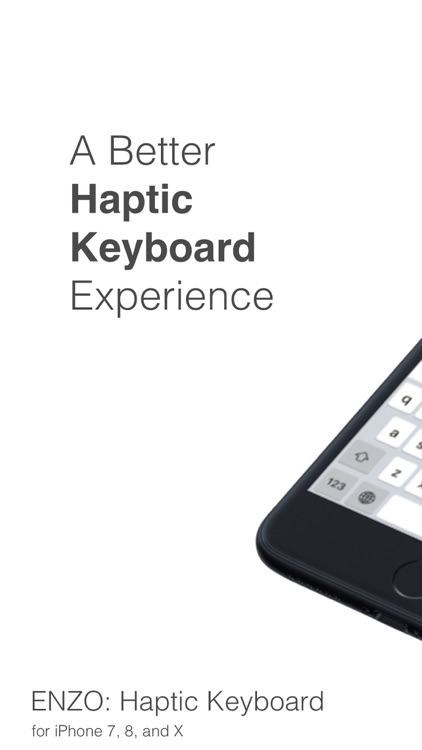 Haptic Keyboard: ENZO screenshot-0