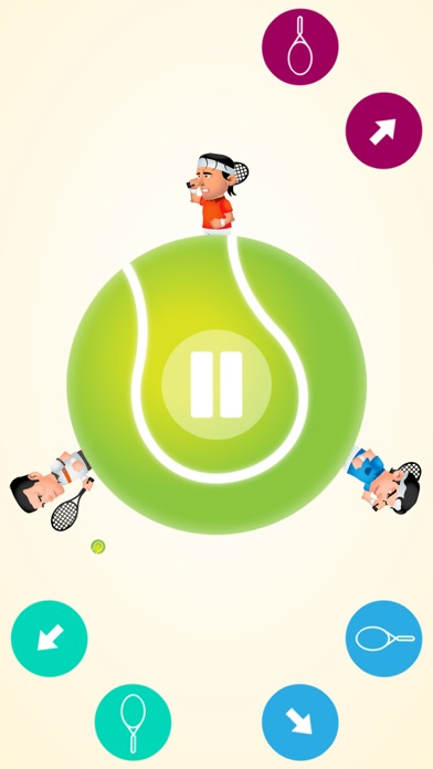 다운로드 라운드 테니스-멀티게임 재미있는 게임 Android 용
