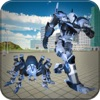 Spider Robot Hero City Battle