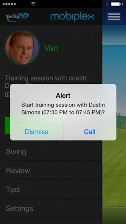 SwingTIP Golf Swing Analyzer screenshot-4