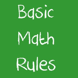 Basic Math Rules