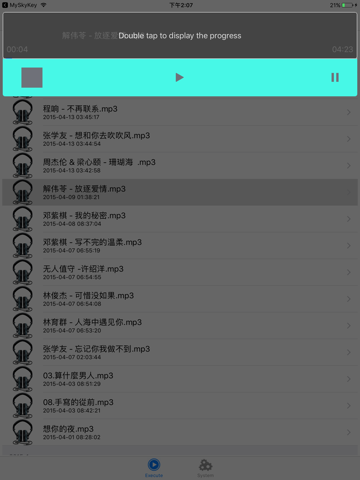 MySkyMusic screenshot 1