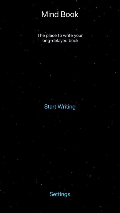 MindBook - Write your own book Screenshots
