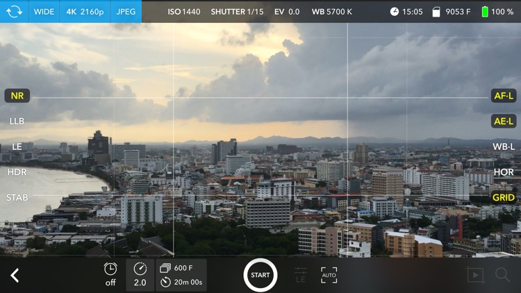 Skyflow – Time-lapse shooting