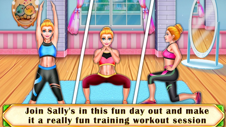 Sally's Fitness Workout