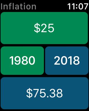Screenshot #6 for Inflation Calculator
