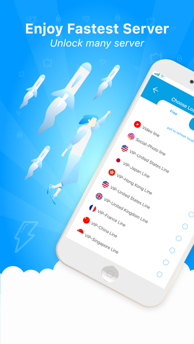 Super VPN - SuperVPN Master Screenshot on iOS