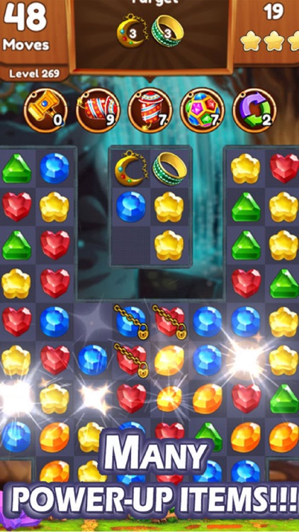 Jewels & Gems Matching Game screenshot-4