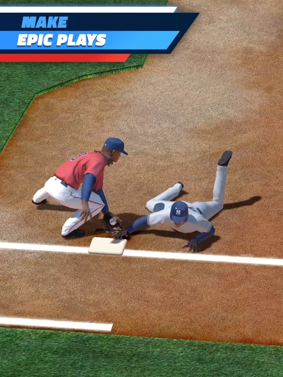 MLB Tap Sports Baseball 2017 iPad