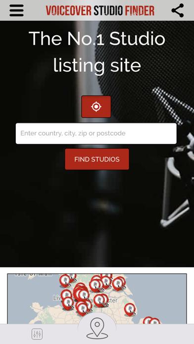 Voiceover Studio Finder screenshot one