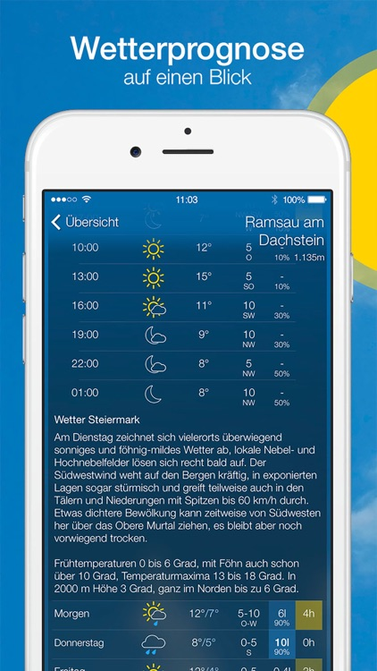 bergfex/Wetter screenshot-3