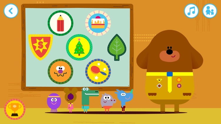 Hey Duggee: The Big Badge App screenshot-0