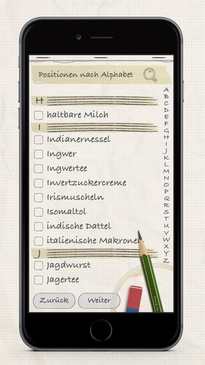 Shopping List / Grocery List screenshot-4