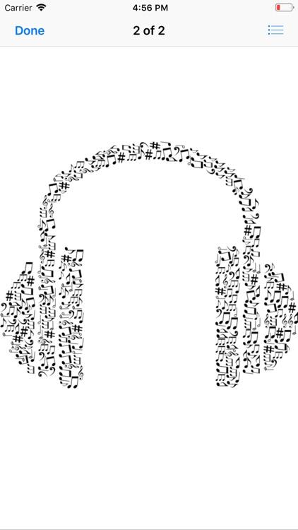 Headphone Stickers screenshot-4