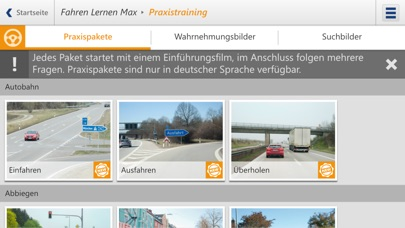 Screenshot for FahrenLernen in Germany App Store