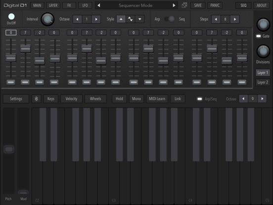 AudioKit Digital D1 Synth screenshot #5