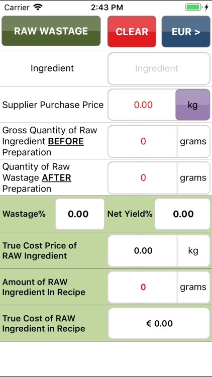 Yield costing (made simple)