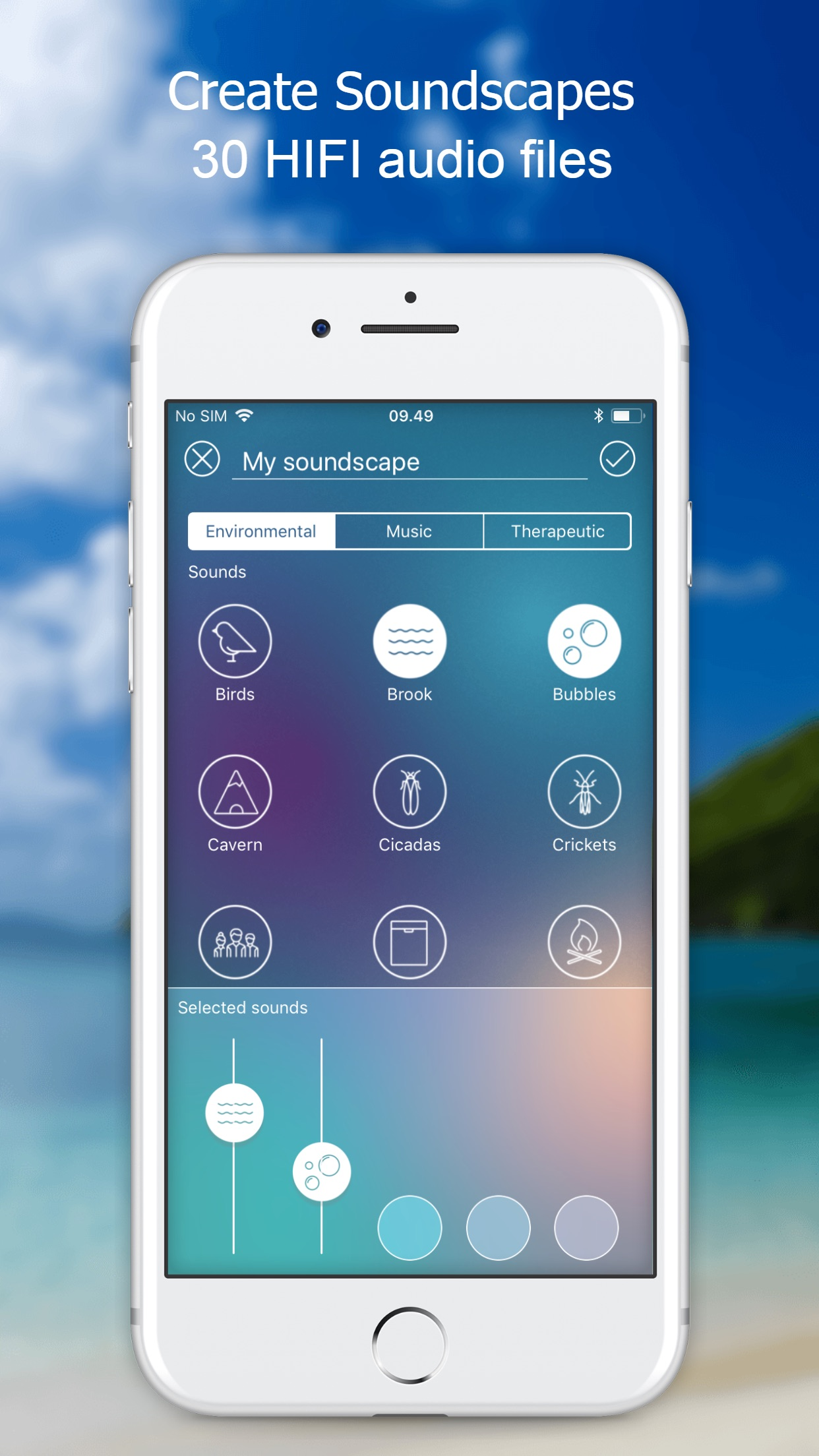 ReSound Tinnitus Relief Screenshot