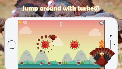Thanksgiving Jumping Turkey screenshot 1