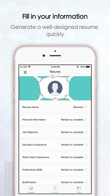 Top Resume -CV maker & Builder screenshot-3