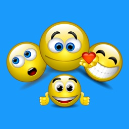 Adult 3D Emoticons Stickers