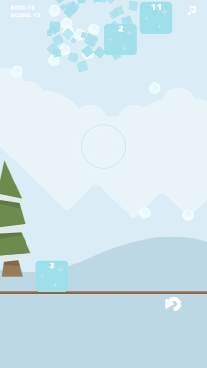 ICE Ball: Easy simple game