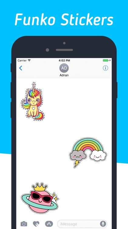 Funny Characters Stickers Pack
