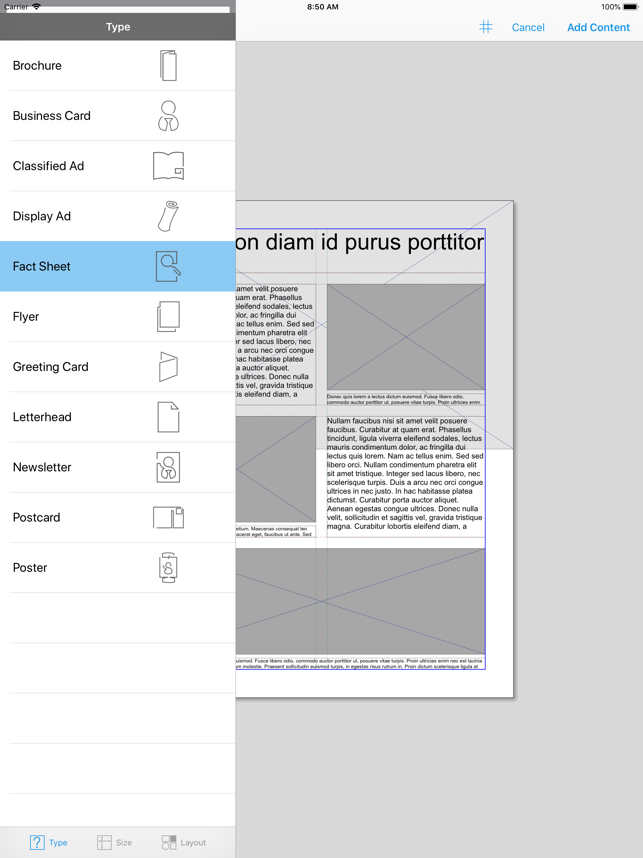 Quark designpad on the app store ipad screenshots reheart Images