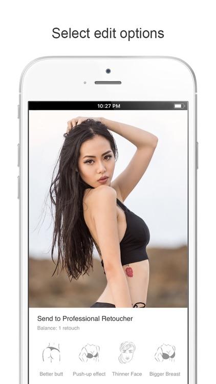 RetouchNow: Face & Body Editor screenshot-3