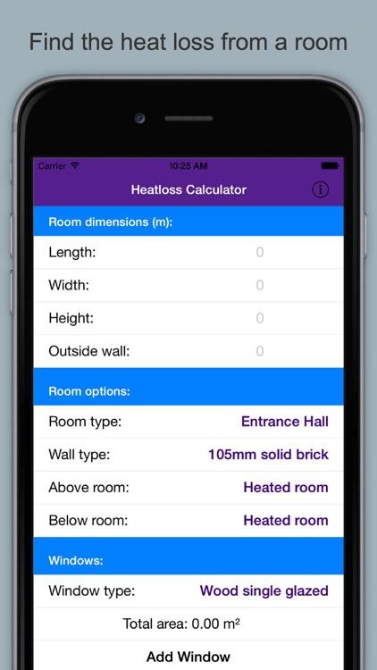 Heatloss Calculator & Guide