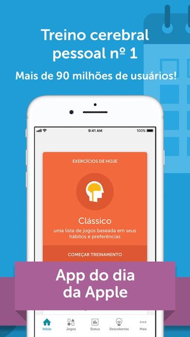 Screenshot for Lumosity: treinamentos diários in Brazil App Store