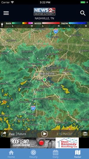 Radar Weather Map Nashville Tn.Wkrn News 2 Stormtracker On The App Store
